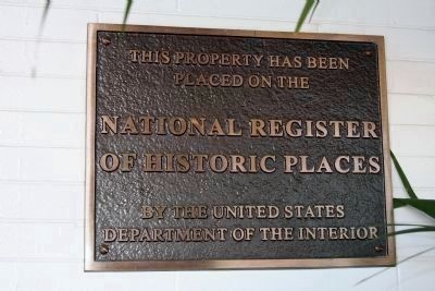 National Register of Historic Places - Marker image, Click for more information