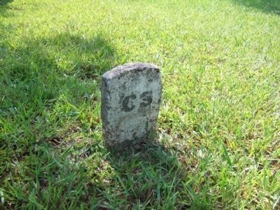 Unknown Confederate Grave Dead Marker Photo, Click for full size