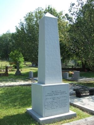 Marble Obelisk to Unknown Confederate Dead Photo, Click for full size