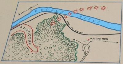 Map of American River Fortifications image. Click for full size.