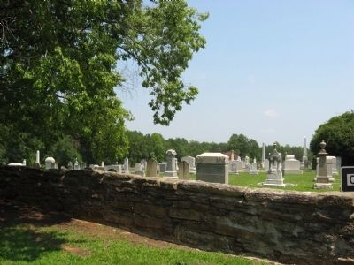 Nazareth Church Cemetery image. Click for full size.