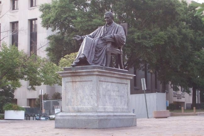 John Marshall Statue image. Click for full size.