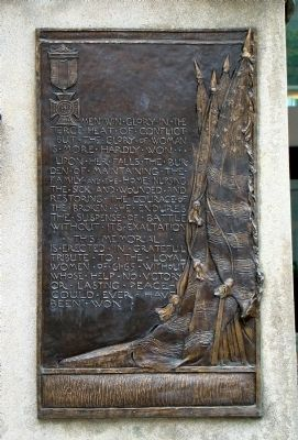 Right Tablet on Back of Monument image. Click for full size.