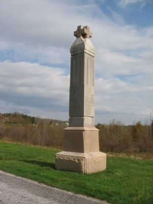 6th Maine Infantry Monument image. Click for full size.