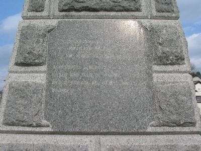 Left Side of Monument image. Click for full size.