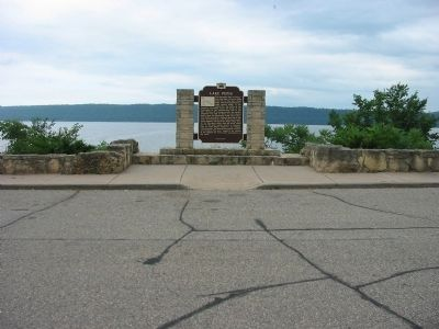 Lake Pepin Marker Photo, Click for full size