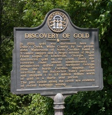 Discovery of Gold Marker image. Click for full size.