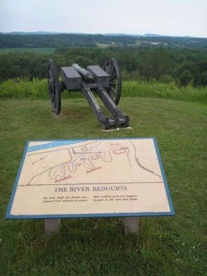 Marker in Saratoga National Historical Park image. Click for full size.