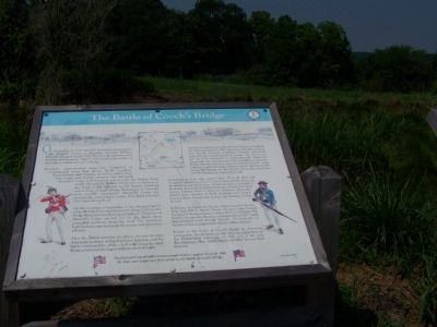 The Battle of Cooch's Bridge Marker image. Click for full size.