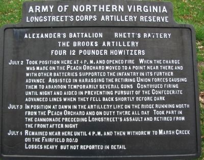 The Brooks Artillery Tablet image. Click for full size.