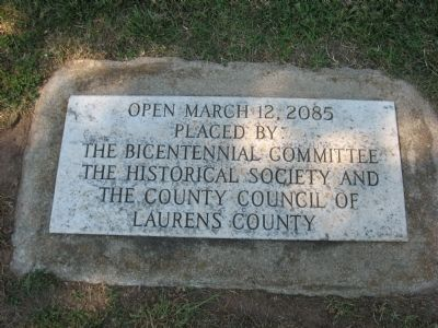 Time Capsule, to be opened on March 12, 2085 Photo, Click for full size