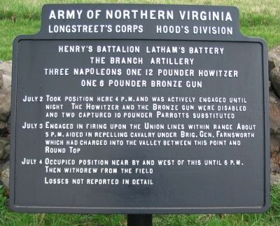 The Branch Artillery Tablet image. Click for full size.