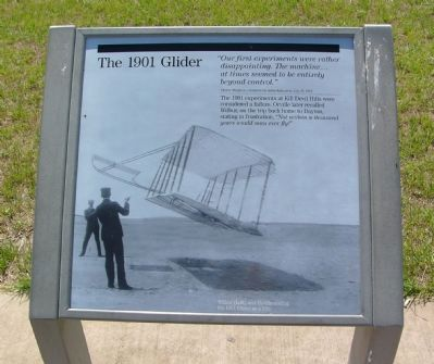 The 1901 Glider Marker image. Click for full size.