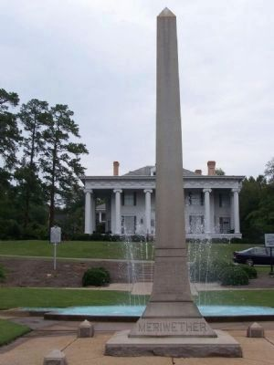 Meriwether Monument Marker </b>(south face) Photo, Click for full size