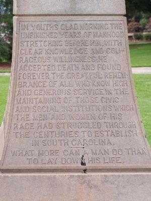 Meriwether Monument Marker </b>(east face) Photo, Click for full size