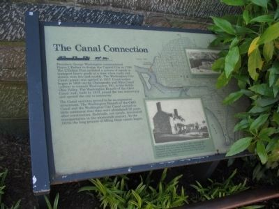 The Canal Connection Marker Photo, Click for full size
