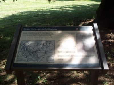From Trenton to Princeton Marker image. Click for full size.