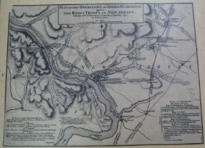 Plan of Operations of General Washington image. Click for full size.
