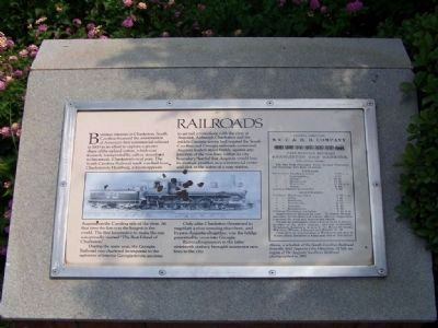 Railroads (in Augusta )Marker image. Click for full size.