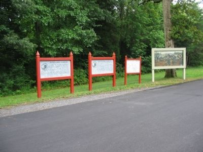 West Entrance to Spotsylvania Battlefield image. Click for full size.