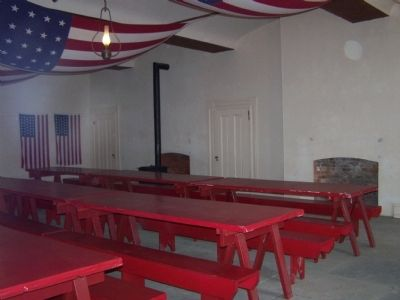 Restored Mess Hall image. Click for full size.