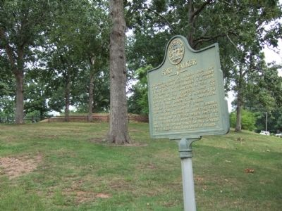 Fort Walker Marker & Redoubts Photo, Click for full size