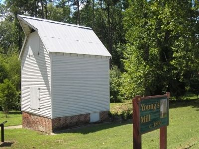 Young's Mill Historic Site image. Click for full size.