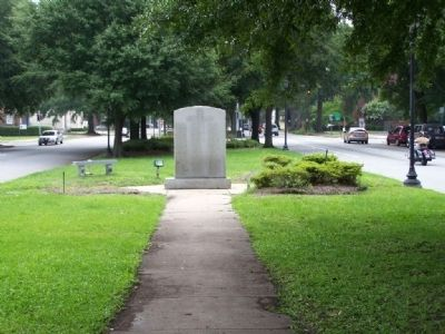 Woodmen Of The World Memorial Marker, on Greene St. image. Click for full size.