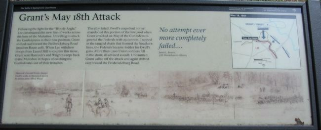 Grant's May 18th Attack Marker image. Click for full size.