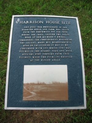 Harrison House Site Marker image. Click for full size.