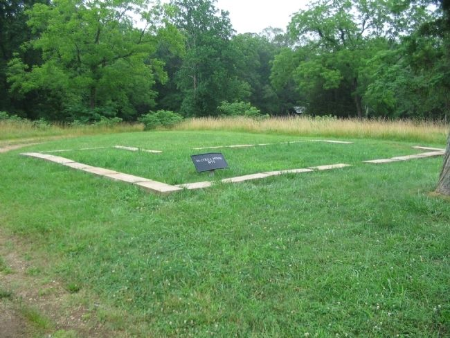 The McCoull House Foundations and Remains image. Click for full size.