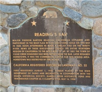 Reading's Bar Marker image. Click for full size.