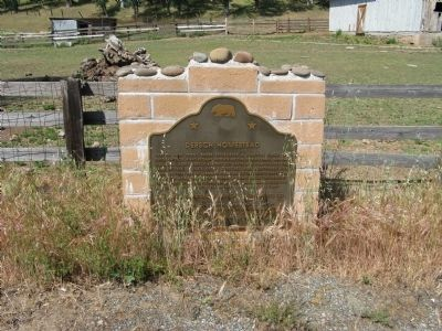 Dersch Homestead Marker Photo, Click for full size