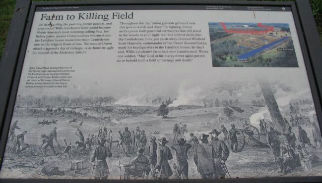 Farm to Killing Field Marker image. Click for full size.