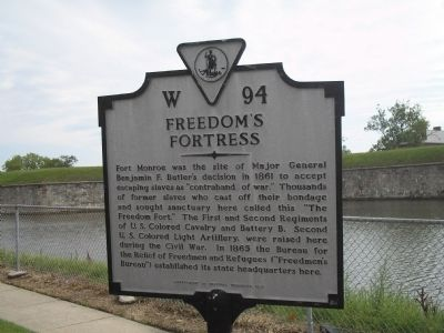 Freedom's Fortress Marker image. Click for full size.