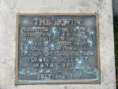 """The Irwin"" Marker image. Click for full size."