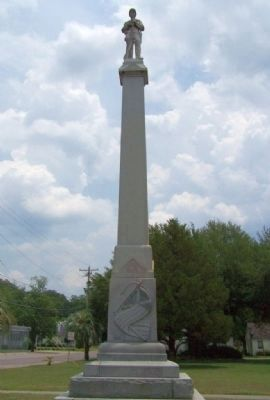 Bamberg Confederate Monument, west face image. Click for full size.