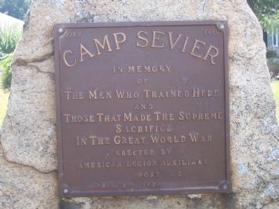 Camp Sevier - In Memory image. Click for full size.
