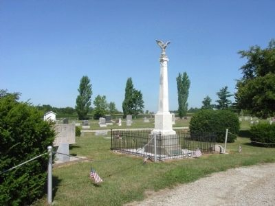 Civil War Memorial - - Second View image. Click for full size.