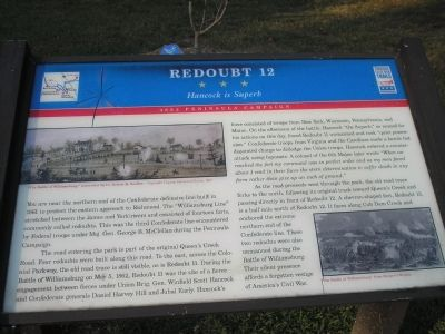 Redoubt 12 Marker image. Click for full size.