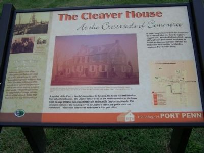 The Cleaver House Marker image. Click for full size.