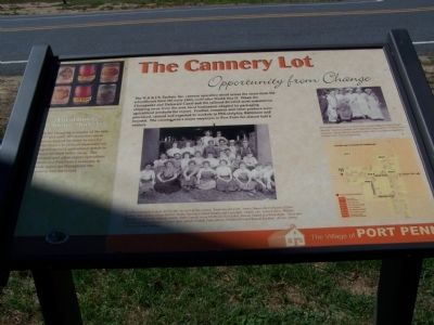 The Cannery Lot Marker image. Click for full size.