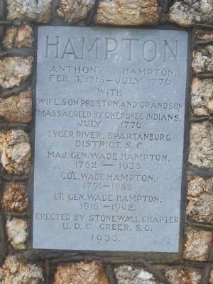 Hampton Marker image. Click for full size.