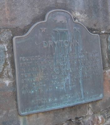 Drytown Marker image. Click for full size.