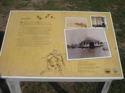 Boathouse Marker image. Click for full size.