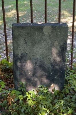 Jacob Russell grave marker image. Click for full size.
