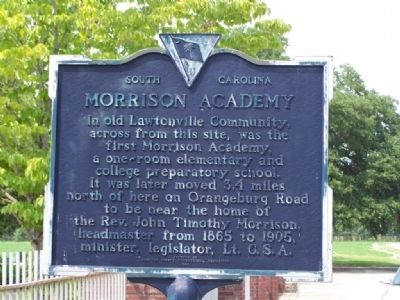 Morrison Academy Marker image. Click for full size.
