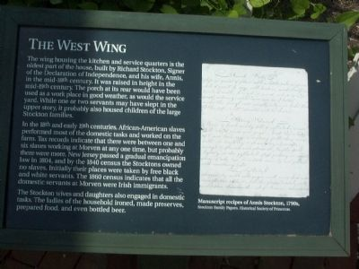 The West Wing Marker image. Click for full size.