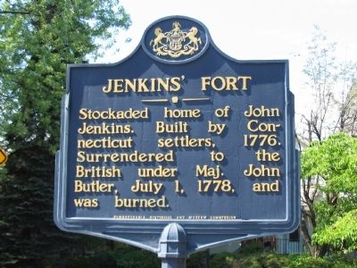Jenkins' Fort Marker image. Click for full size.