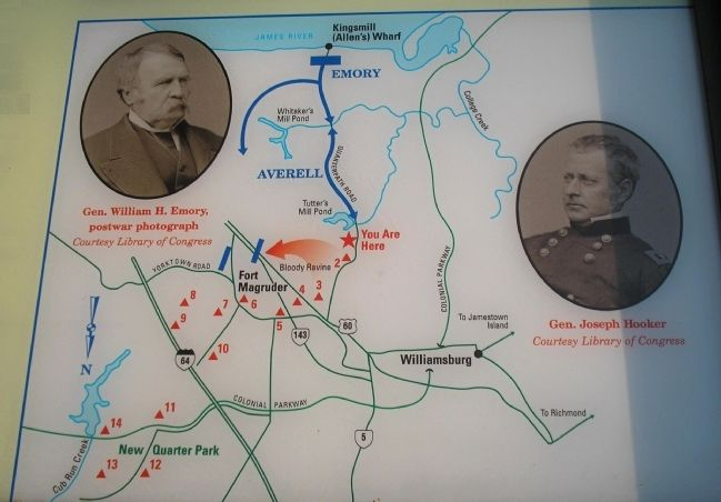 Battle Map from Marker Photo, Click for full size